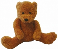 Design-a-Bear Cinnamon - Personalized Teddy Bear with Knitted Top
