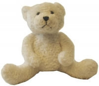 Design-a-Bear Snowy - Personalized Teddy Bear with Knitted Top