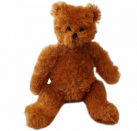 "RAGS ""Brownie"" Teddy Bear with Knitted Top"